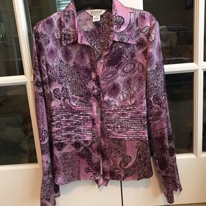 Allison Taylor Silk Blouse